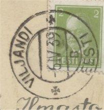 philately of Estonia : Republic 1918-1940